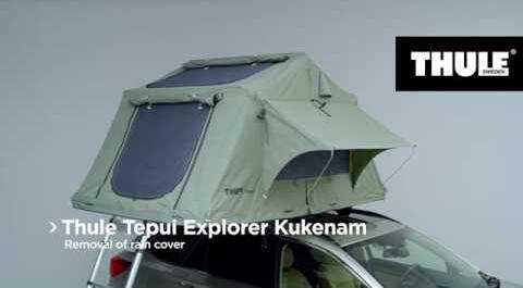 Dachzelt Thule Tepui Explorer Kukenam, Video | Dachzeltshop.at