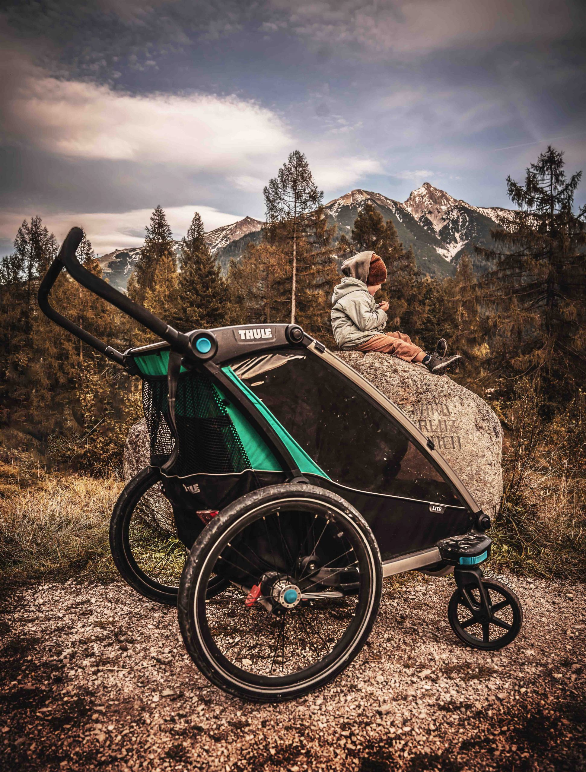 Thule Chariot, Marlenas Fotografie I Dachzeltshop, Innsbruck